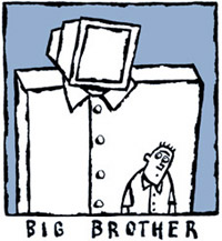 big brother logo cartoon