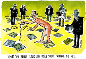 naked on the net cartoon
